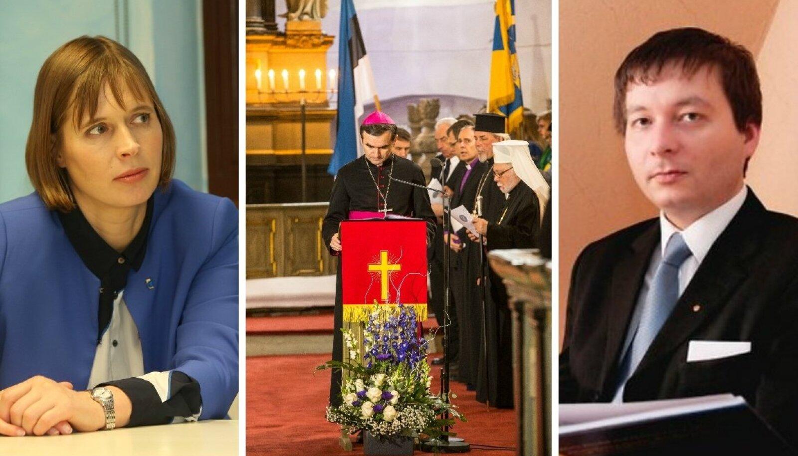 Kersti Kaljulaid ja Peeter Espak