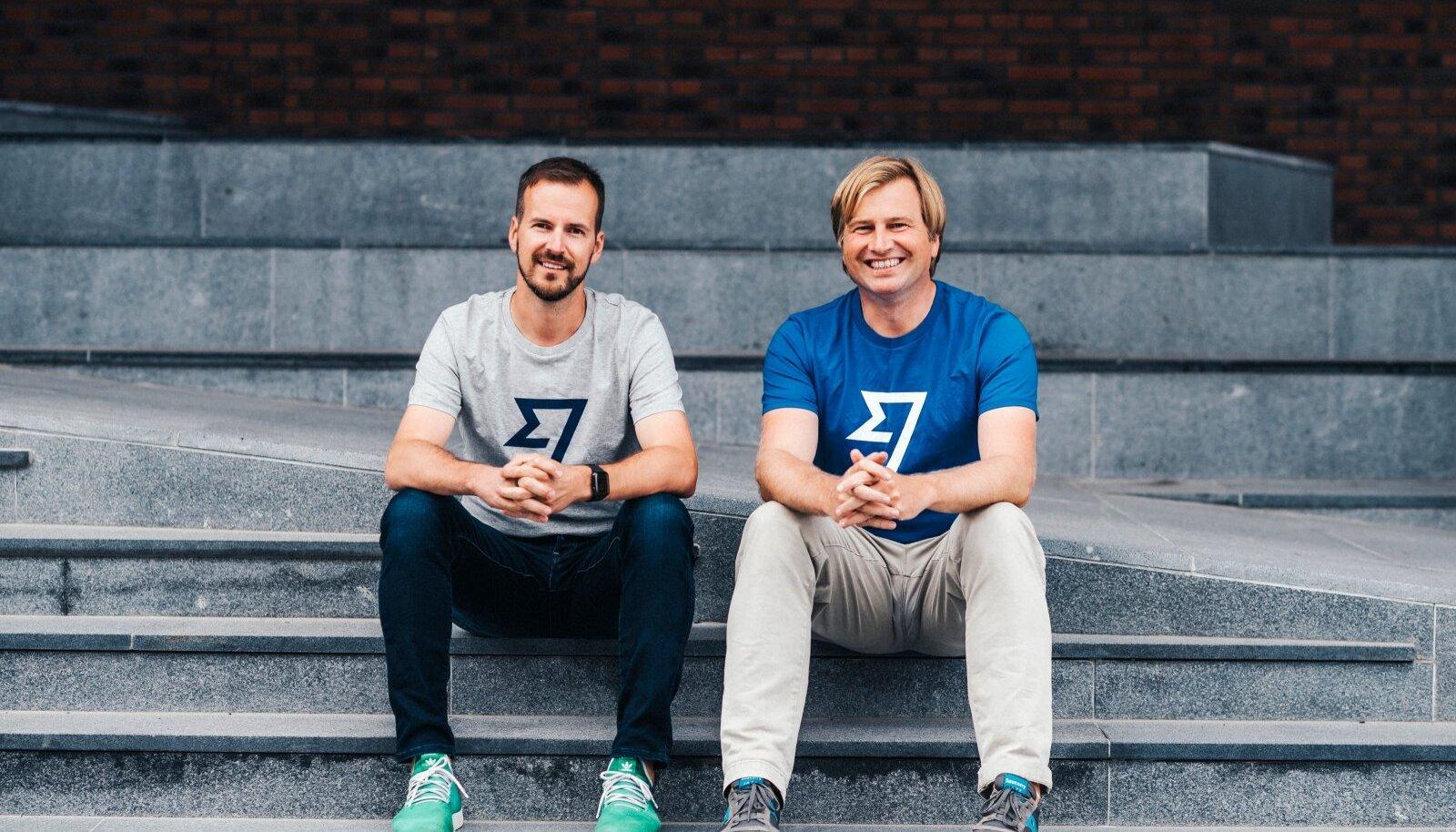 Wise'i kaasasutajad Taavet Hinrikus (vasakul) ja Kristo Käärmann