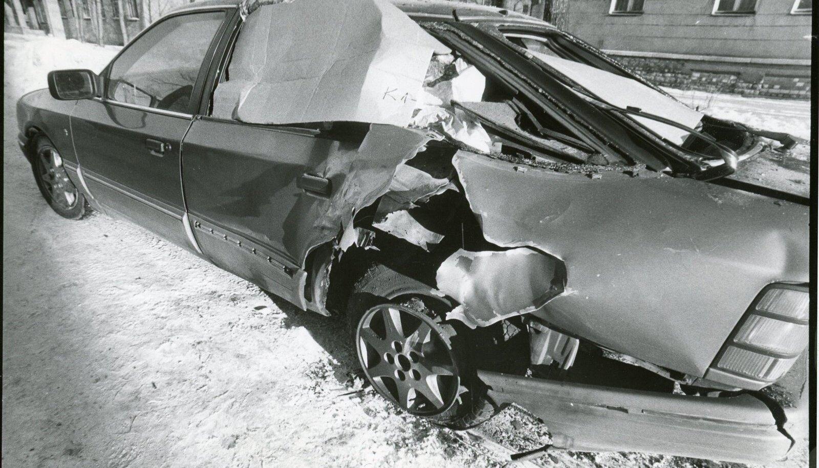 Pommiplahvatus, Mercedes