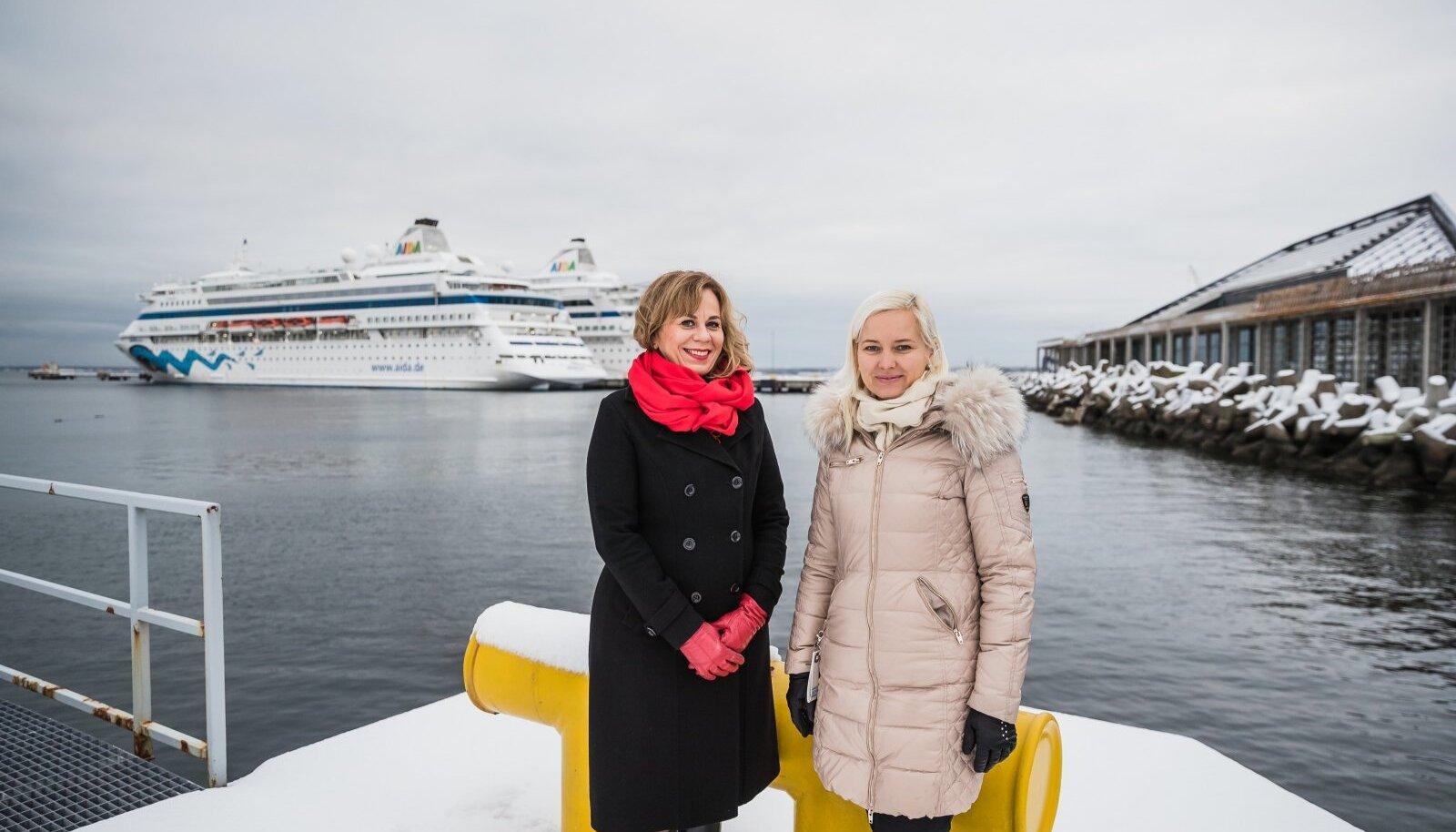 Tallinna Sadama kvaliteedi- ja keskkonnajuhtimise osakonna juhataja Ellen Kaasik ja turundus- ja kommunikatsiooniosakonna juhataja Sirle Arro tegelevad Rohetiigri programmis jäätmetega, sest ringmajandusest on Eestis palju räägitud, aga olulisi arenguid pole toimunud. Sadamast käib läbi ühe Eesti keskmise linna jagu jäätmeid ja on oluline, et need ei läheks prügimäkke või põletusse.