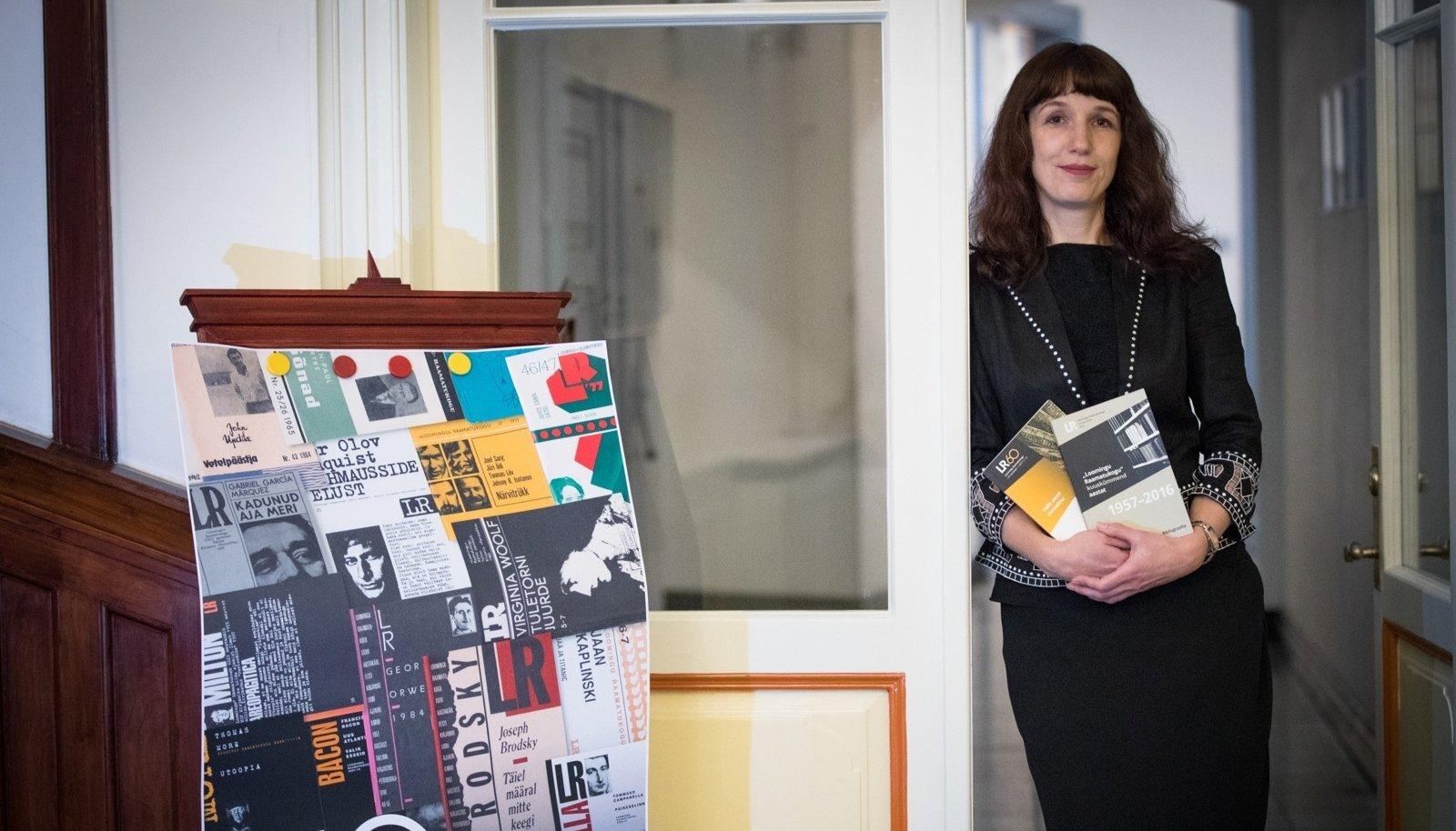 Tõlkija ja toimetaja Triinu Tamm valiti Loomingu Raamatukogu peatoimetajaks 2013. aastal.