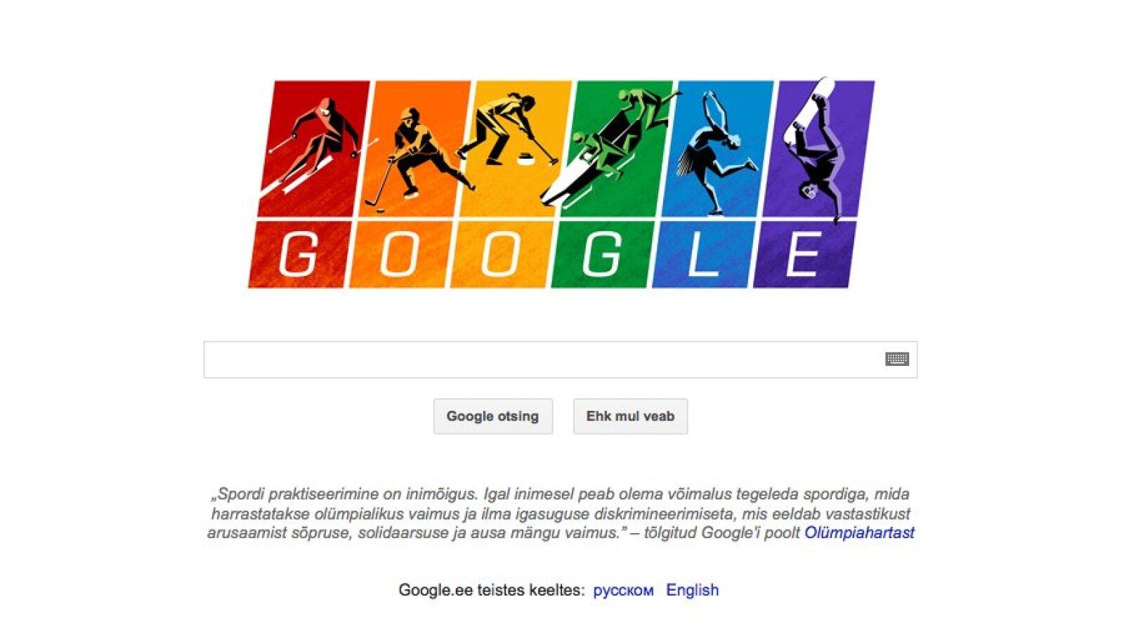Google otsingumootori avaleht