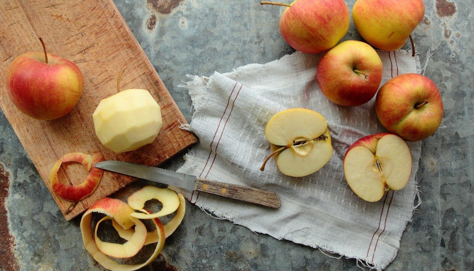 Kas koorida õunu või mitte?
