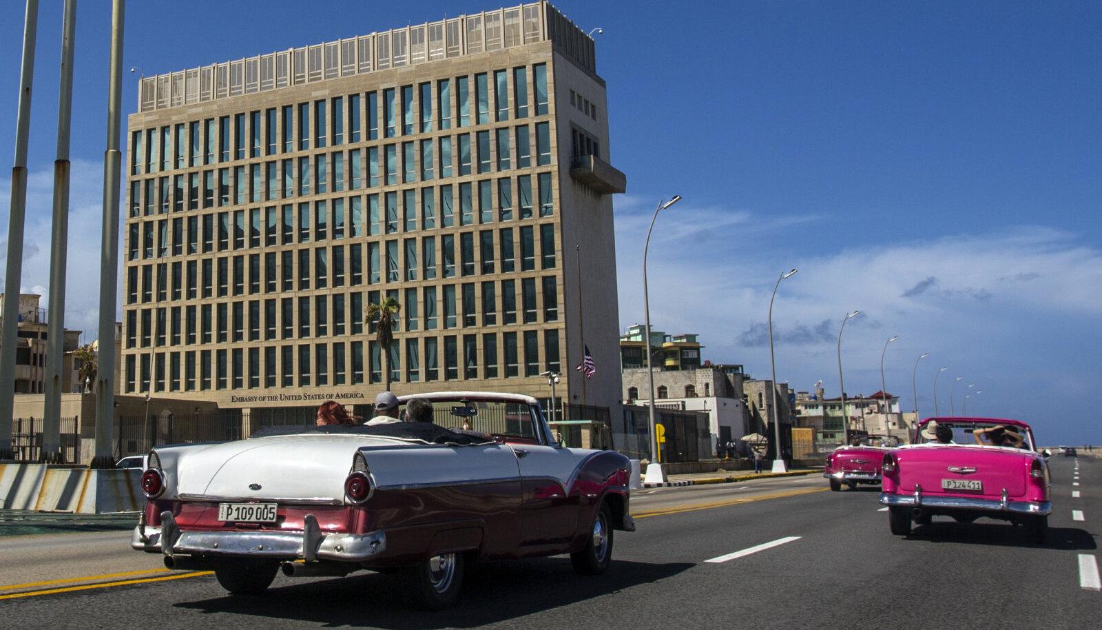 USA saatkond Havannas