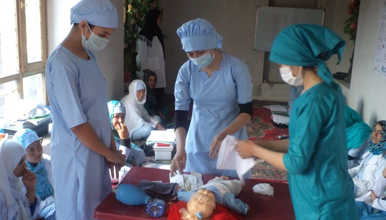 Afganistani tervishoiukoolitus