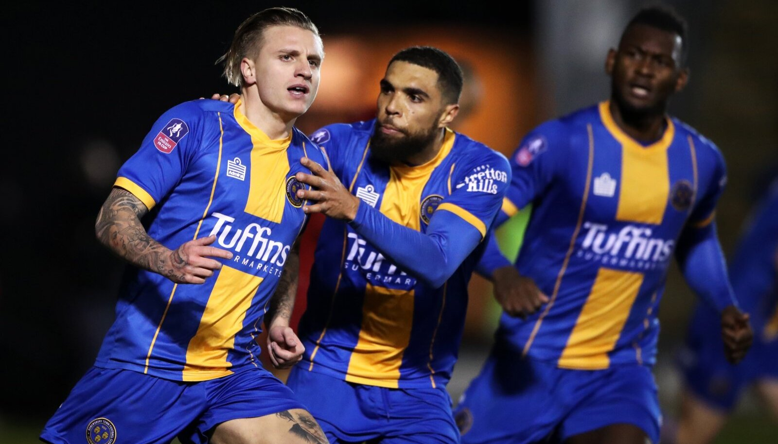Shrewsbury Town v Liverpool - FA Cup - Fourth Round - Montgomery Waters Meadow
