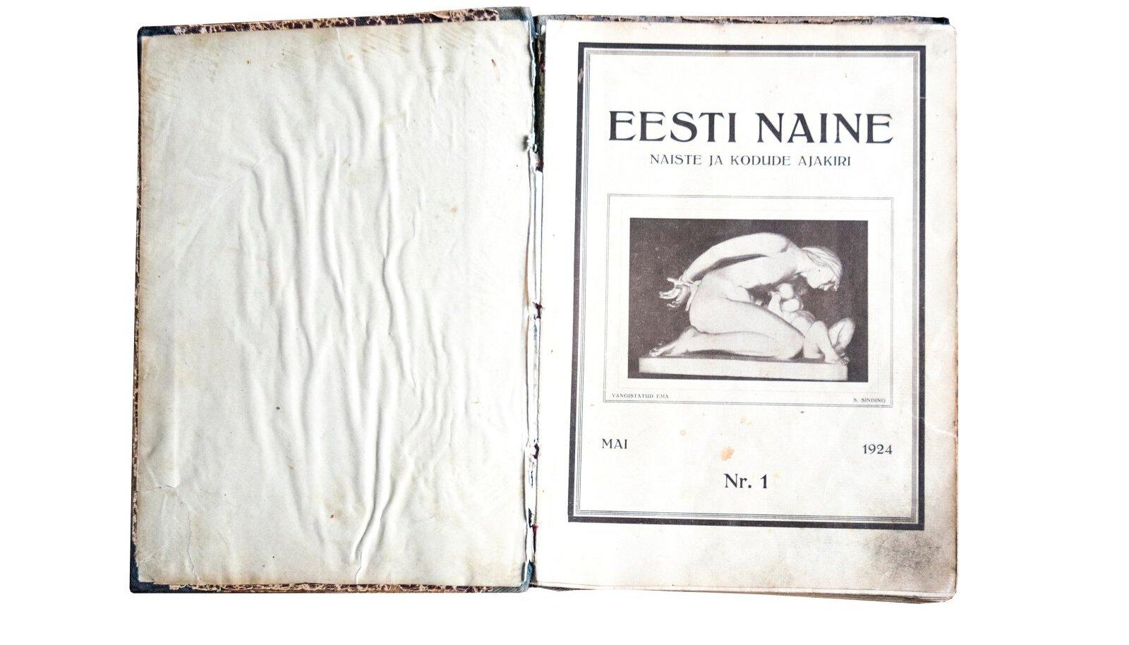 Esimene Eesti Naine 1924.