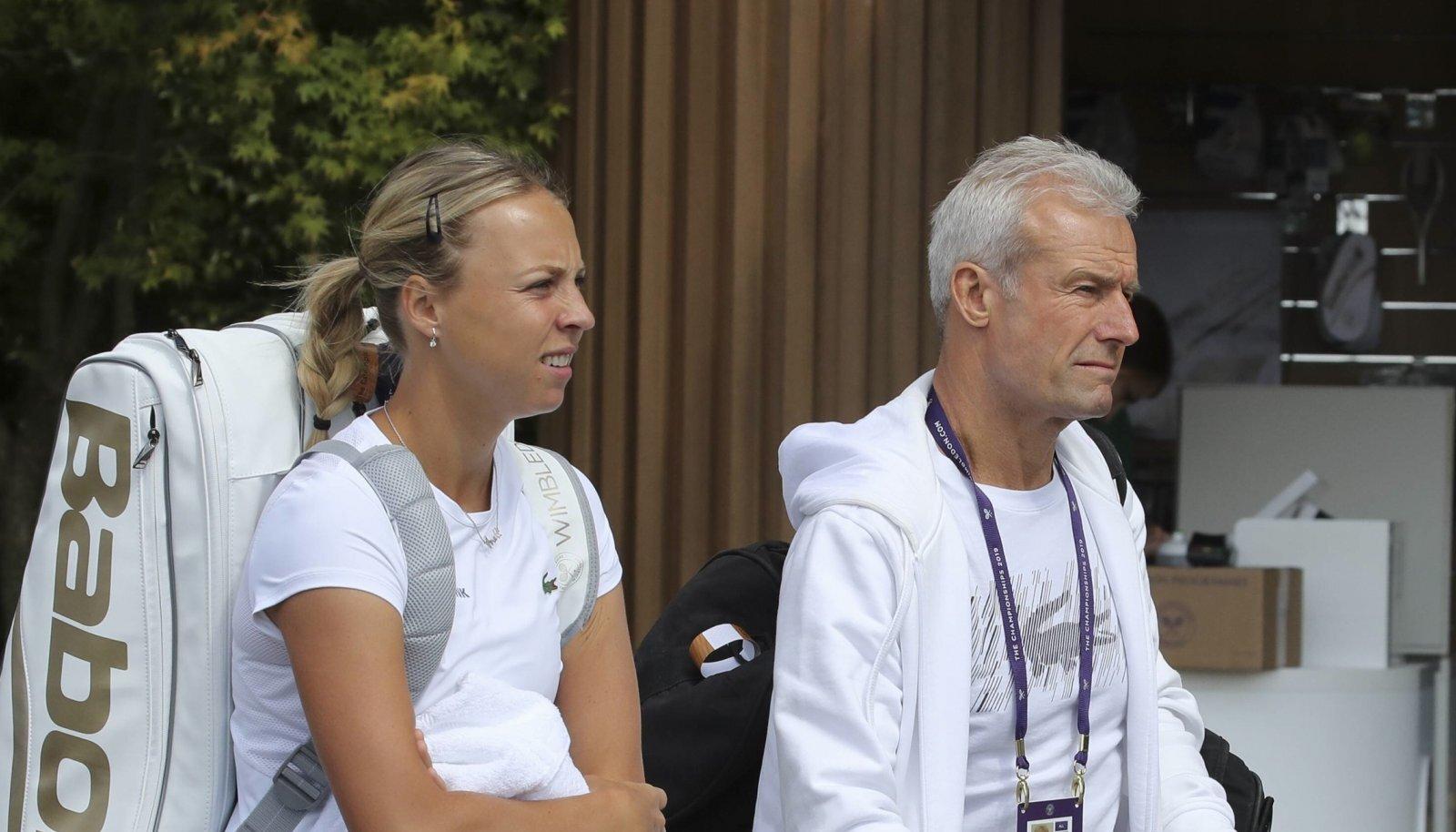 Anett Kontaveit Tennis Wimbledon 2019 Grand Slam ITF ATP Tennis Herren WTA Tennis Damen
