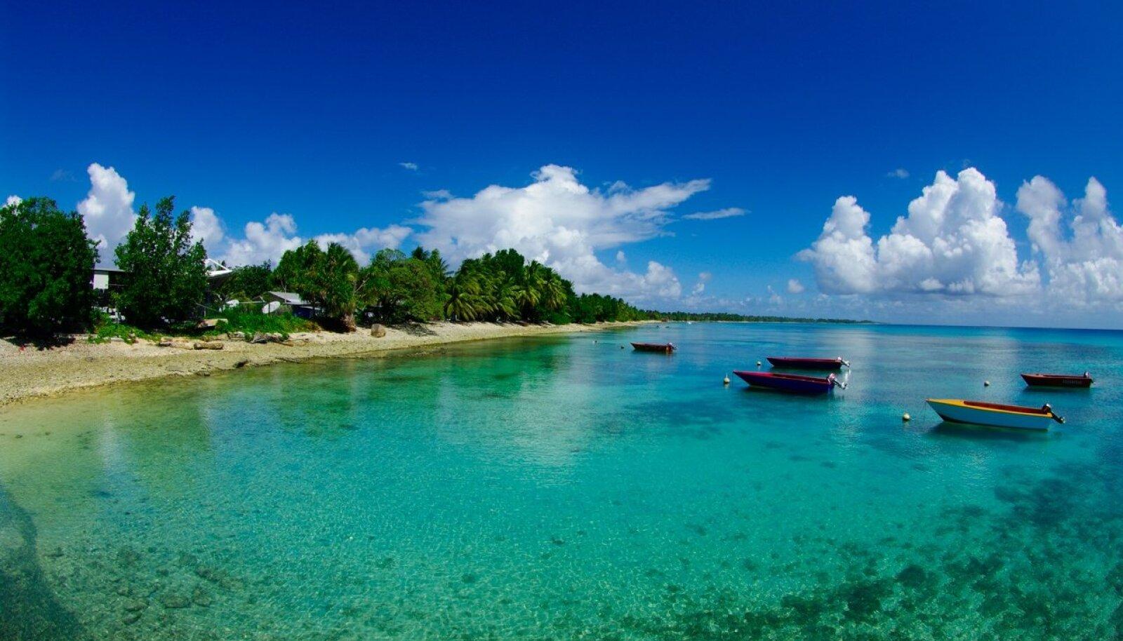 Tuvalu pon üks väiksemaid riike maailmas.