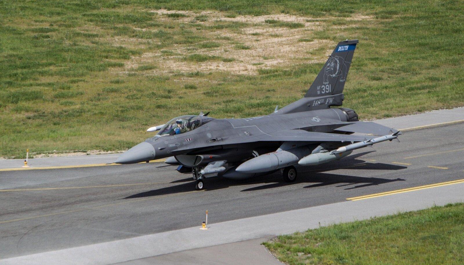 Koos Taani hävitajatega on Ämari lennubaasis 25 hävitajat