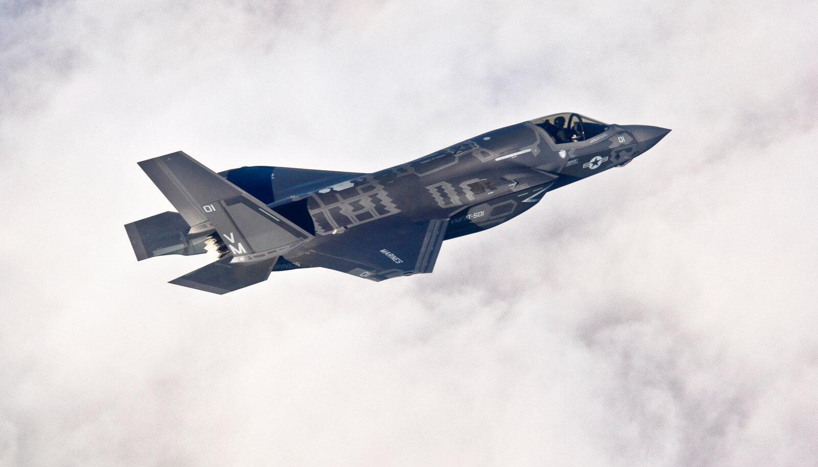 USA ründelennuk F-35B