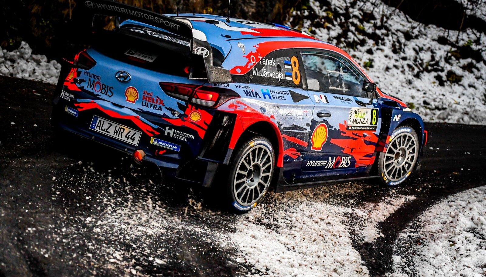 OTT TANAK AUTOMOBILE : WRC, Motorsport Rallye, WM ACI rallye Monza - 05/12/2020 SPRESSE/PANORAMIC PUBLICATIONxNOTxINxFRA