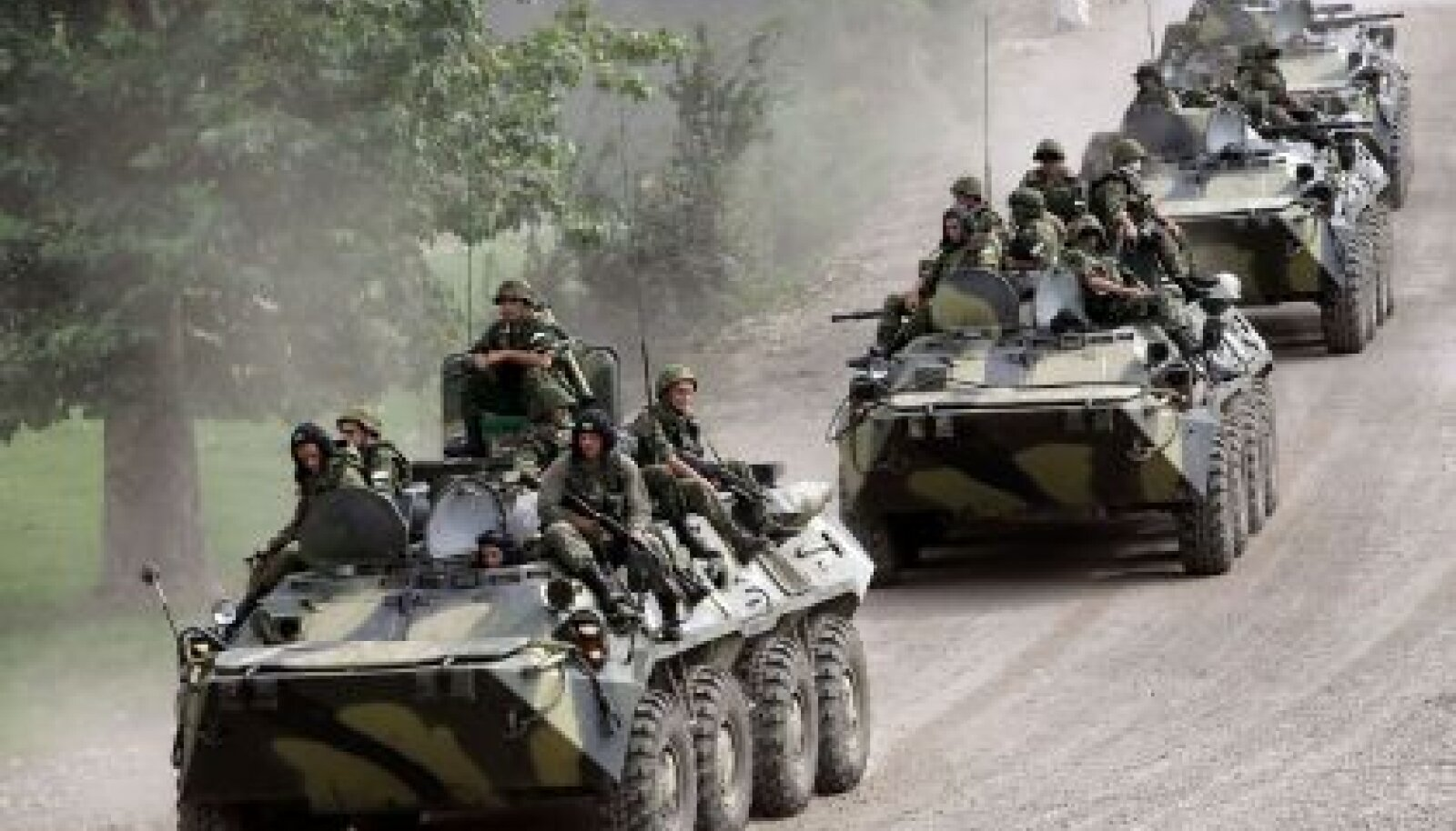 Vene BTR soomukid