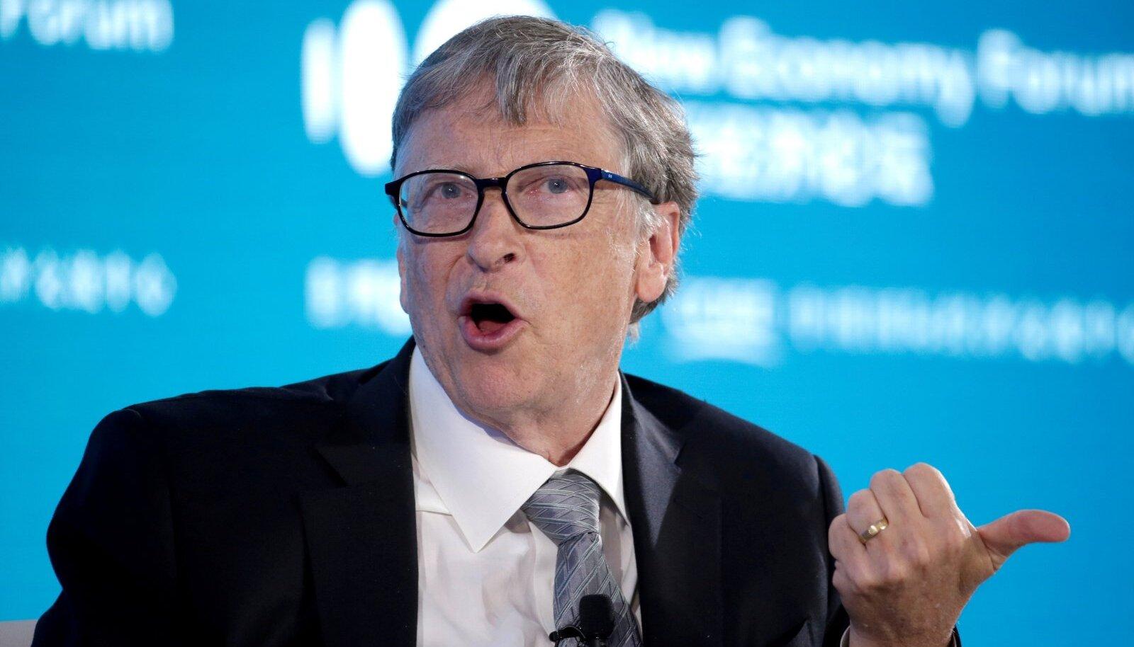 Bill Gates on maski kandmise usku.