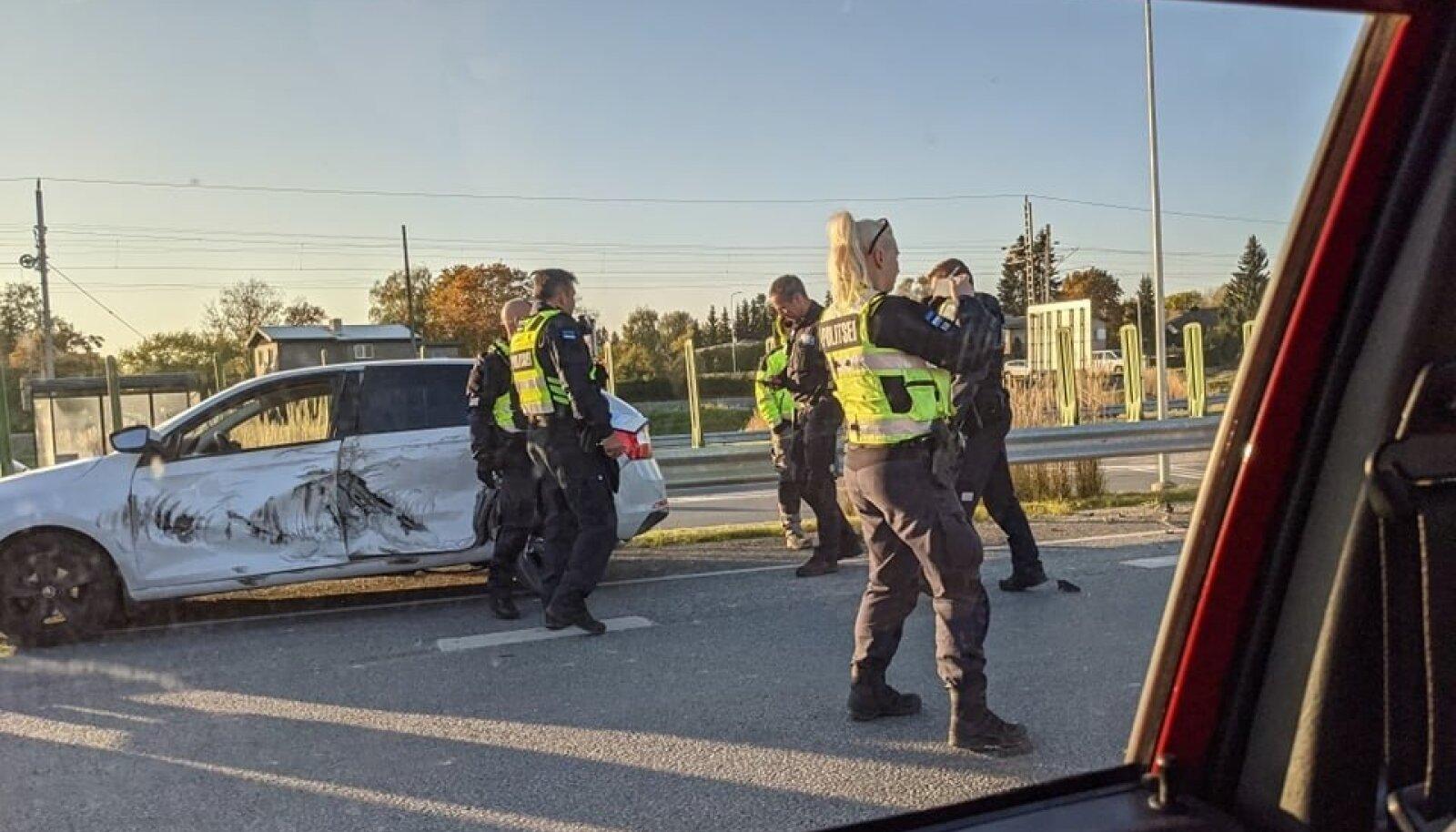 Liiklusõnnetus Laagris.