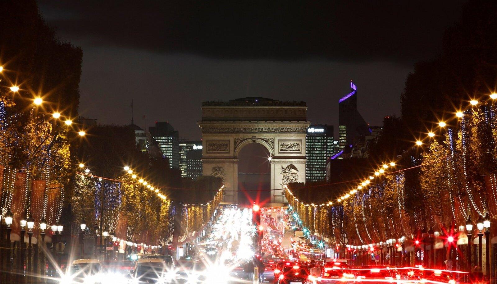 Pariisi liiklus.