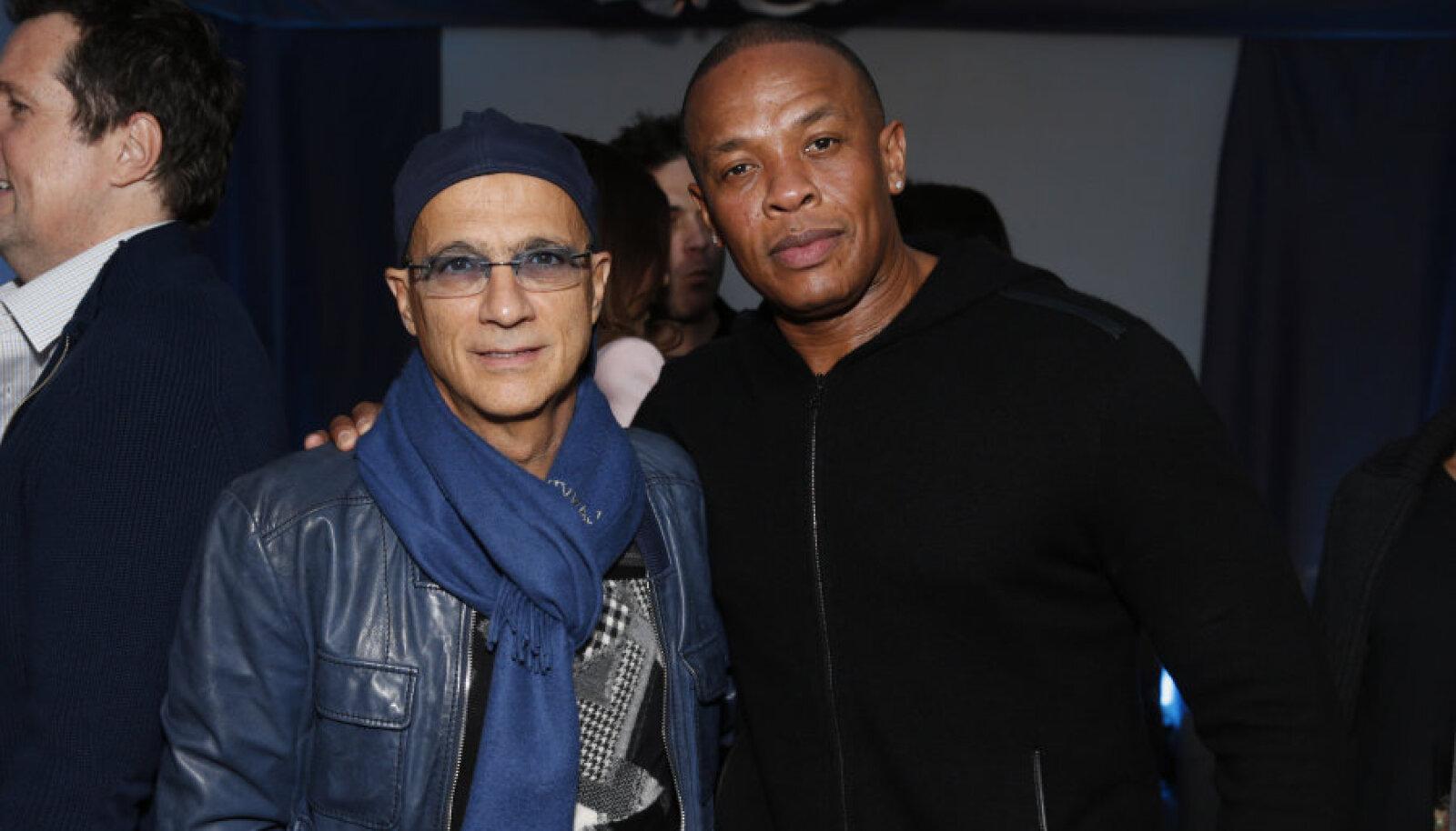Jimmy Iovine (vasakul) ja Dr. Dre.