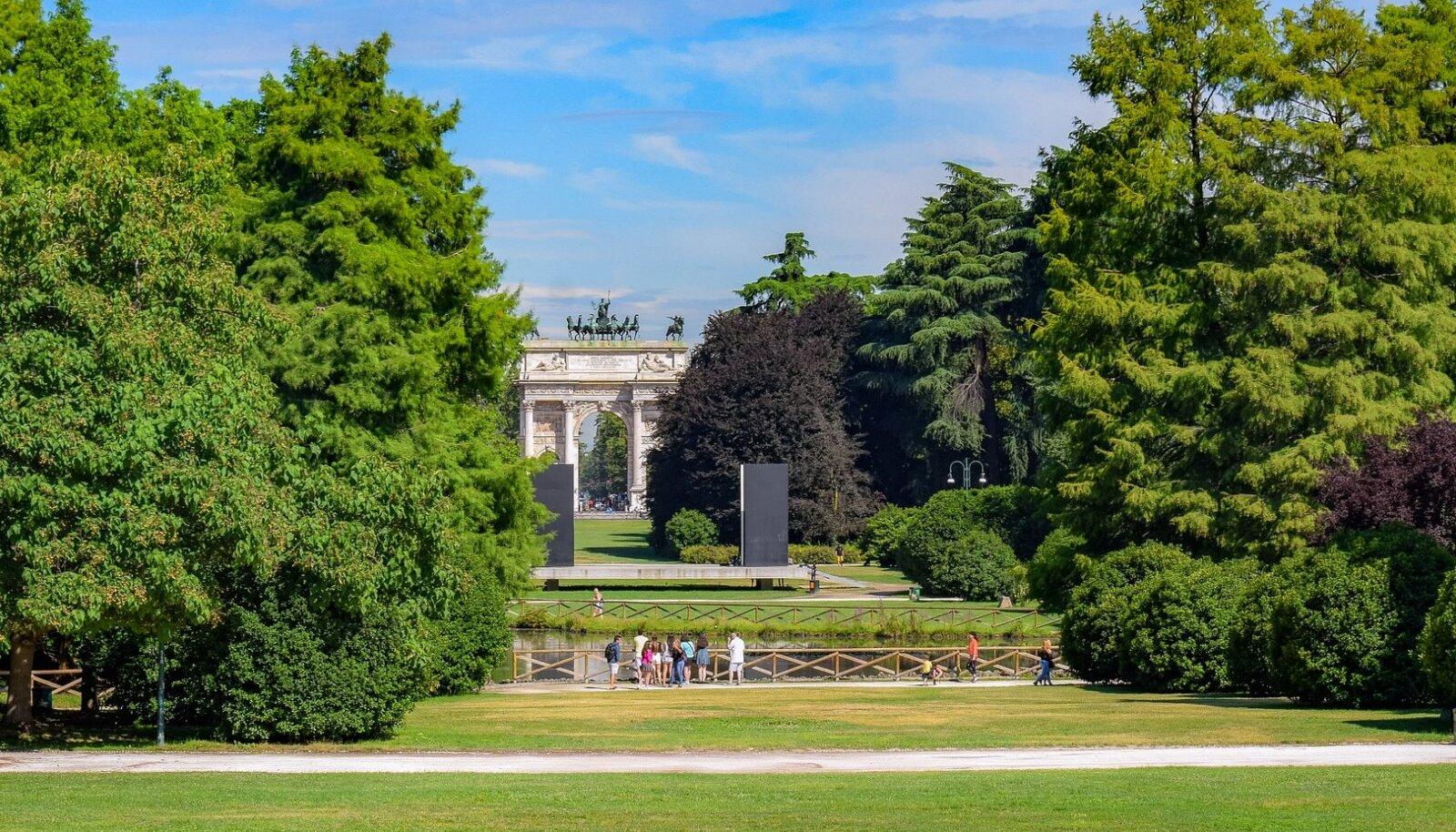 Sempione park, Milano