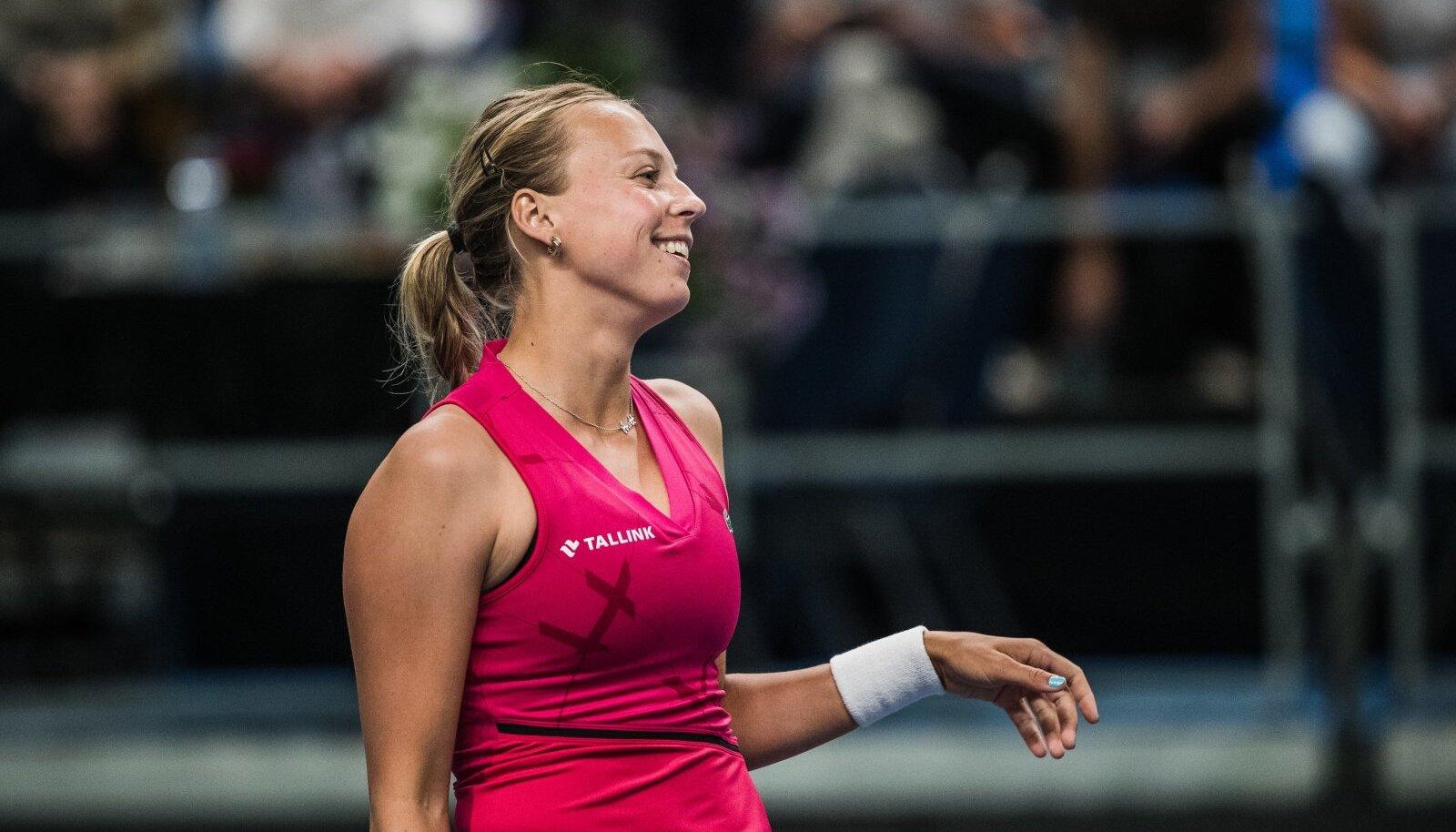 Eesti - Läti tennisematš –Anett Kontaveit vs Anastasija Sevastova