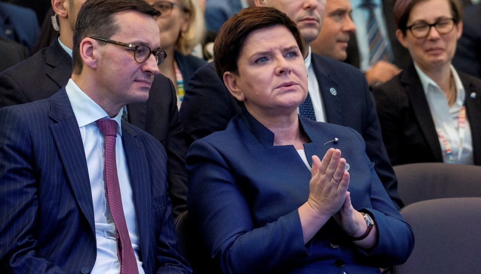 Mateusz Morawiecki ja Beata Szydło