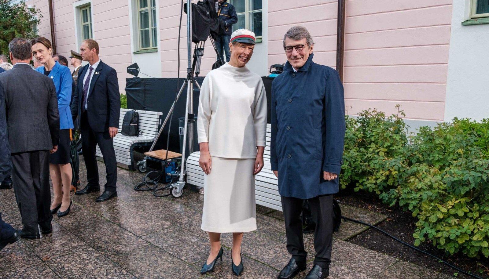 David-Maria Sassoli, Kersti Kaljulaid