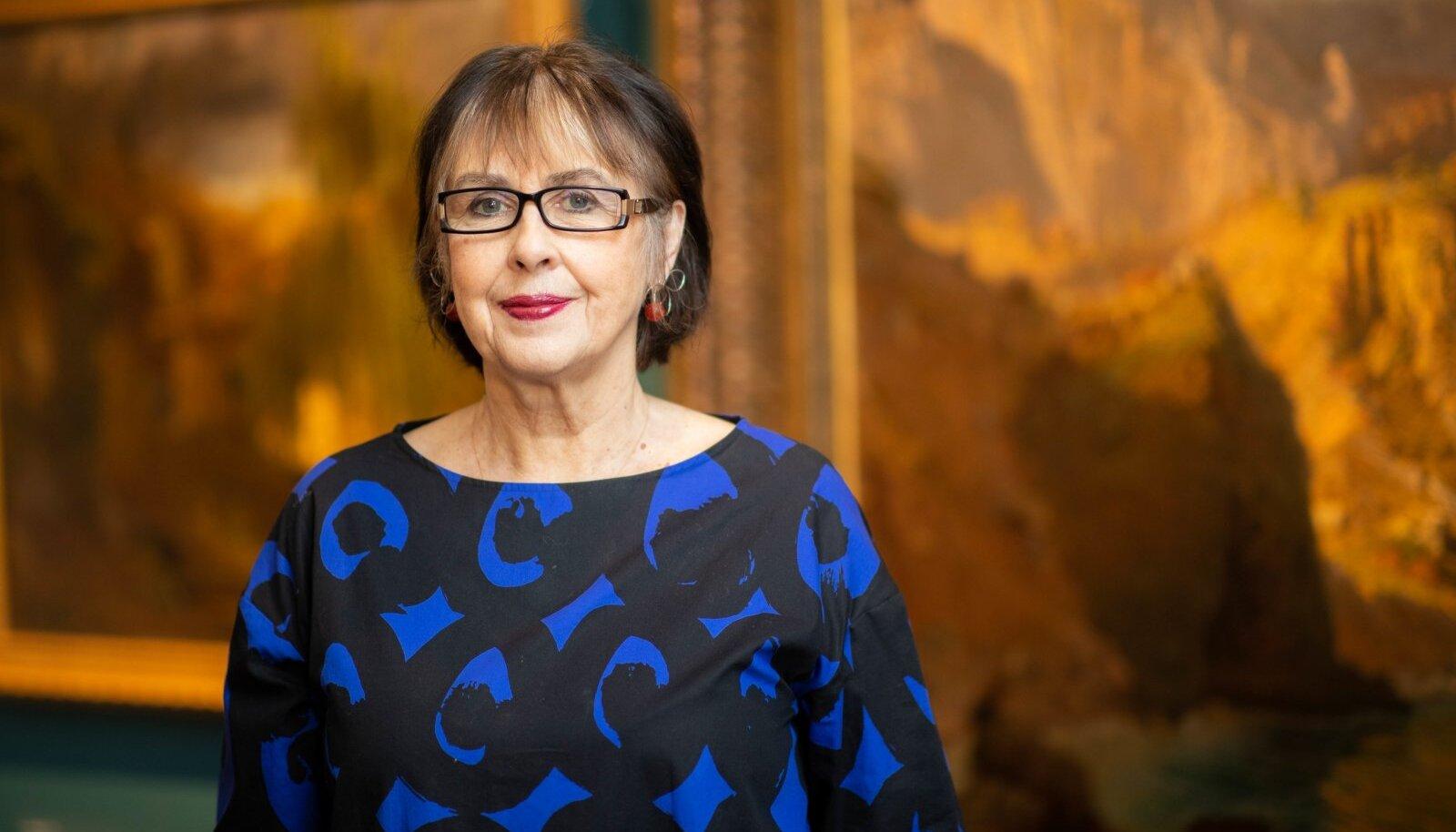 Eesti Kunstimuuseumi peadirektor Sirje Helme