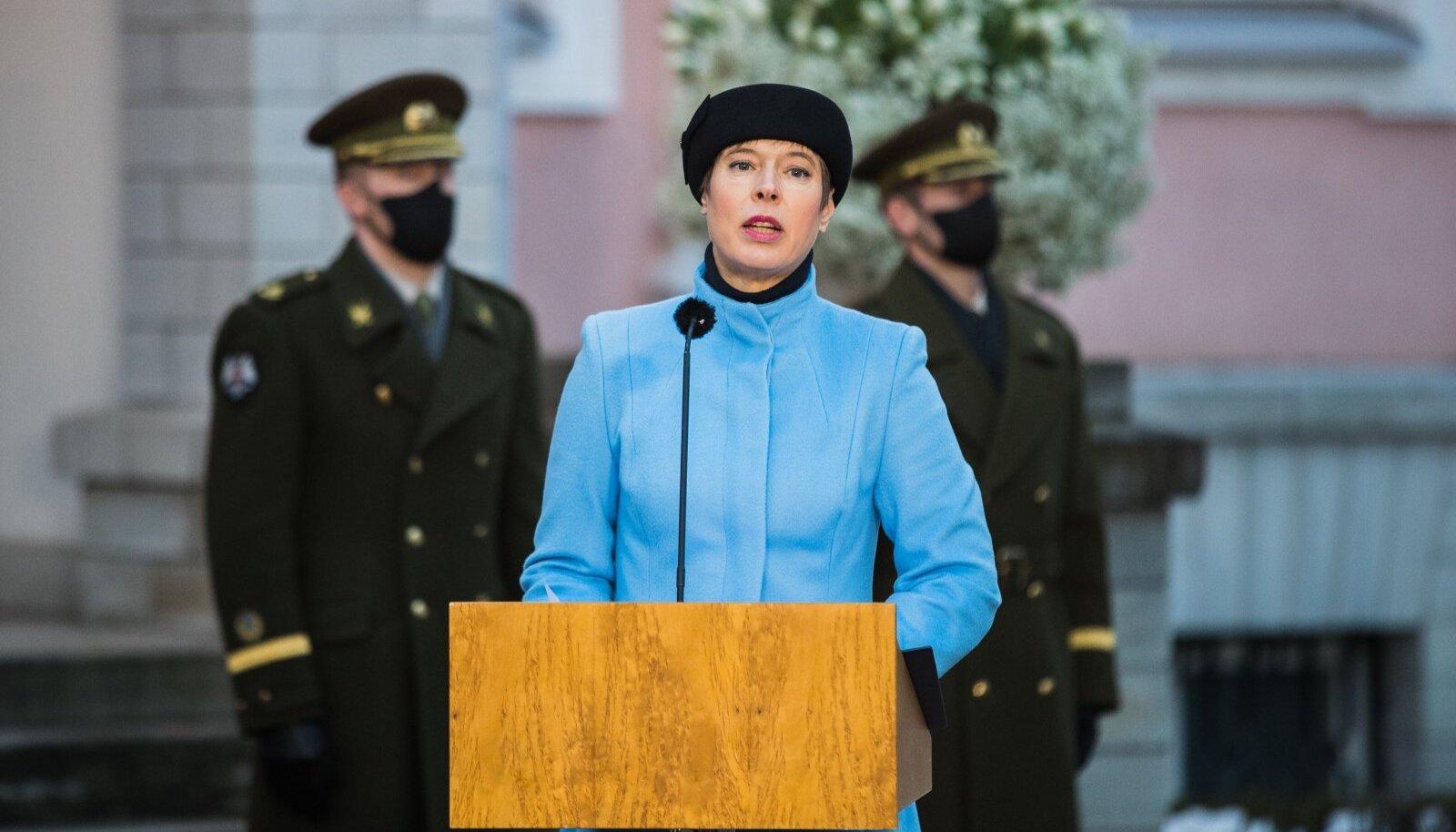 President nimetab ametisse Kaja Kallase valitsuse