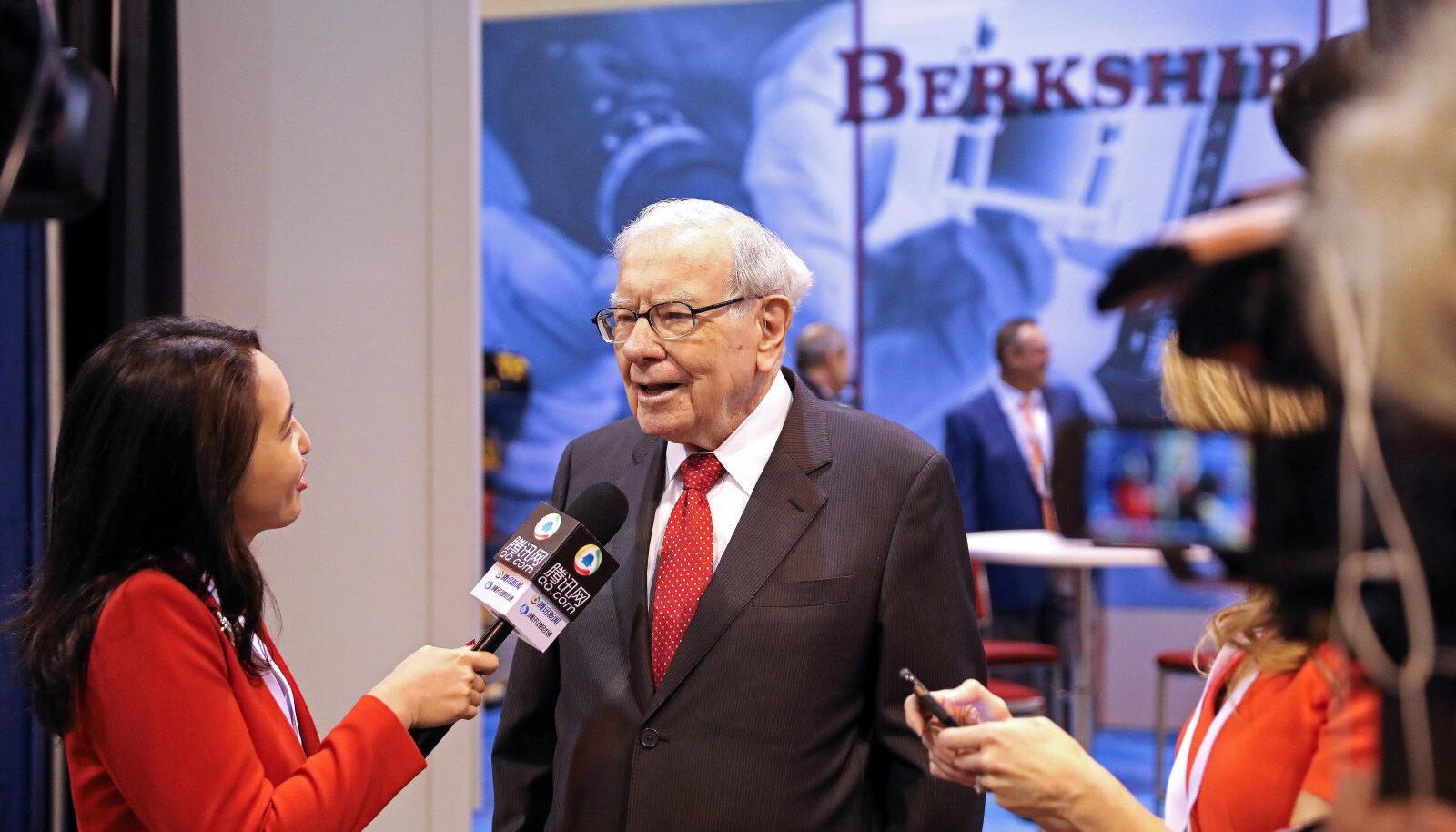 Warren Buffett eile intervjuud andmas