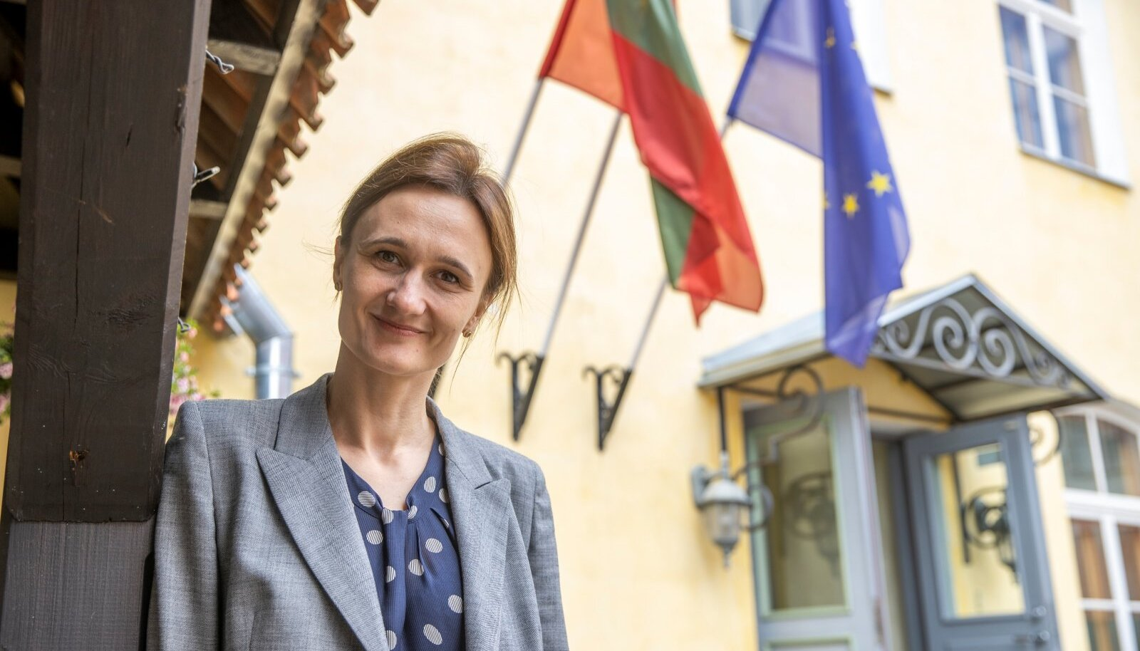 Leedu parlamendi esimees Viktorija Čmilytė-Nielsen, kes on muide males rahvusvaheline suurmeister, liitus seimiga 2015. aastal.