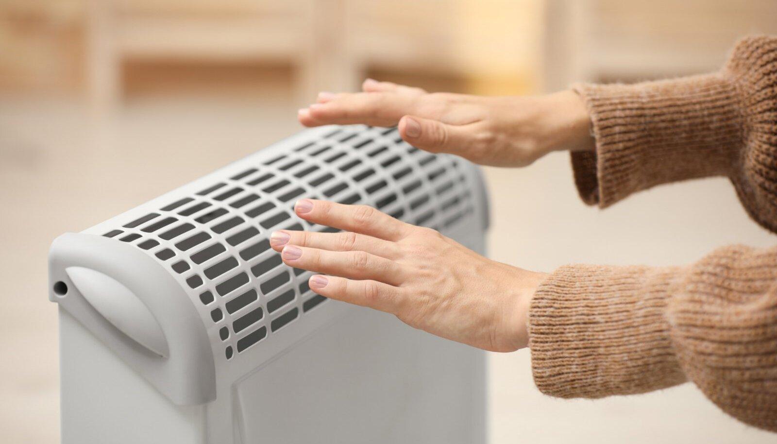 Elektrikonvektoriga saab ruumi kiiresti sooja õhu sisse.