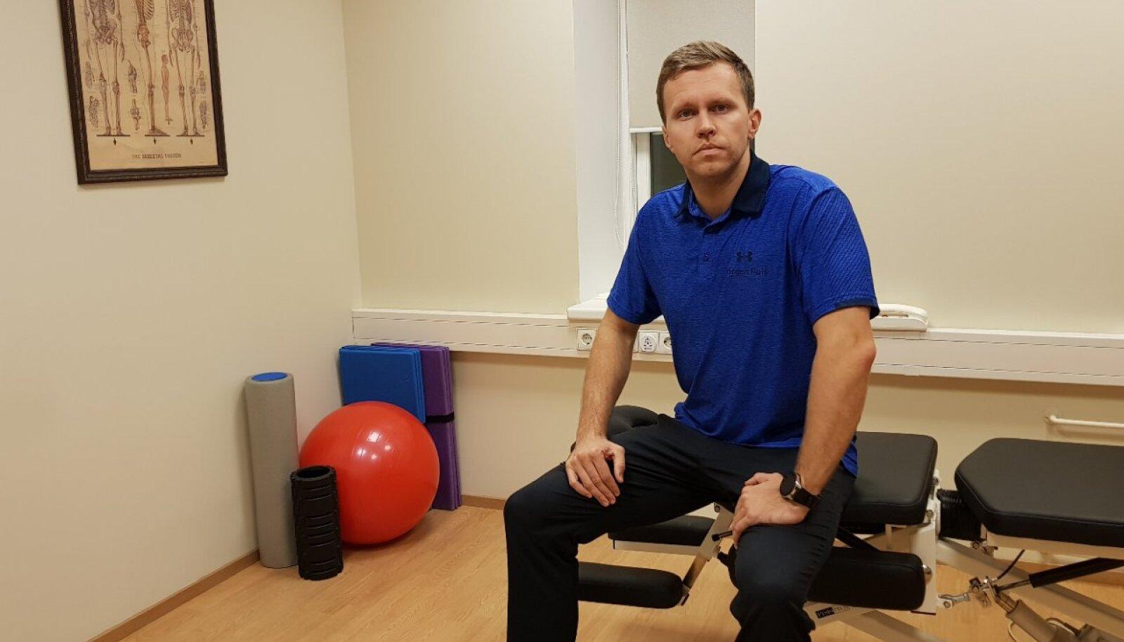 Jörgen Puis, füsioterapeut