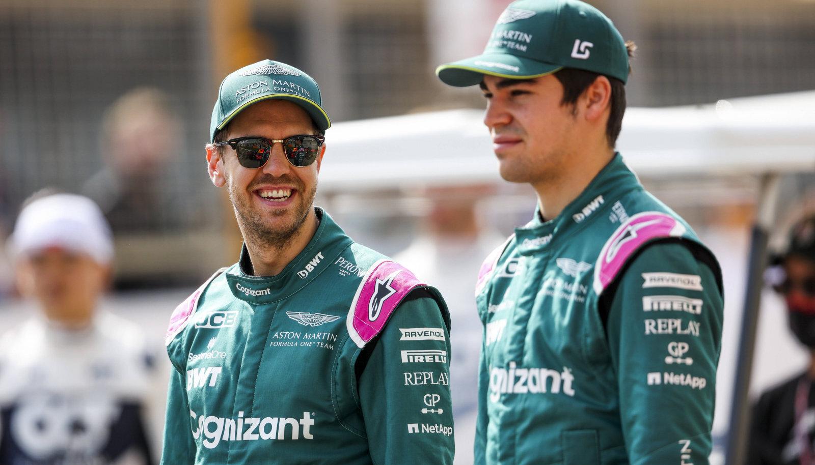 Sebastian Vettel ja Lance Stroll