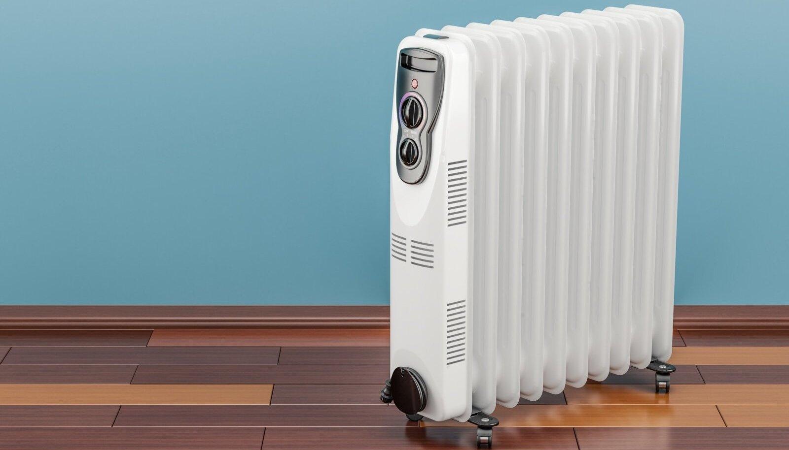 Õliradiaator säilitab soojust mõnda aega pärast väljalülitamist.