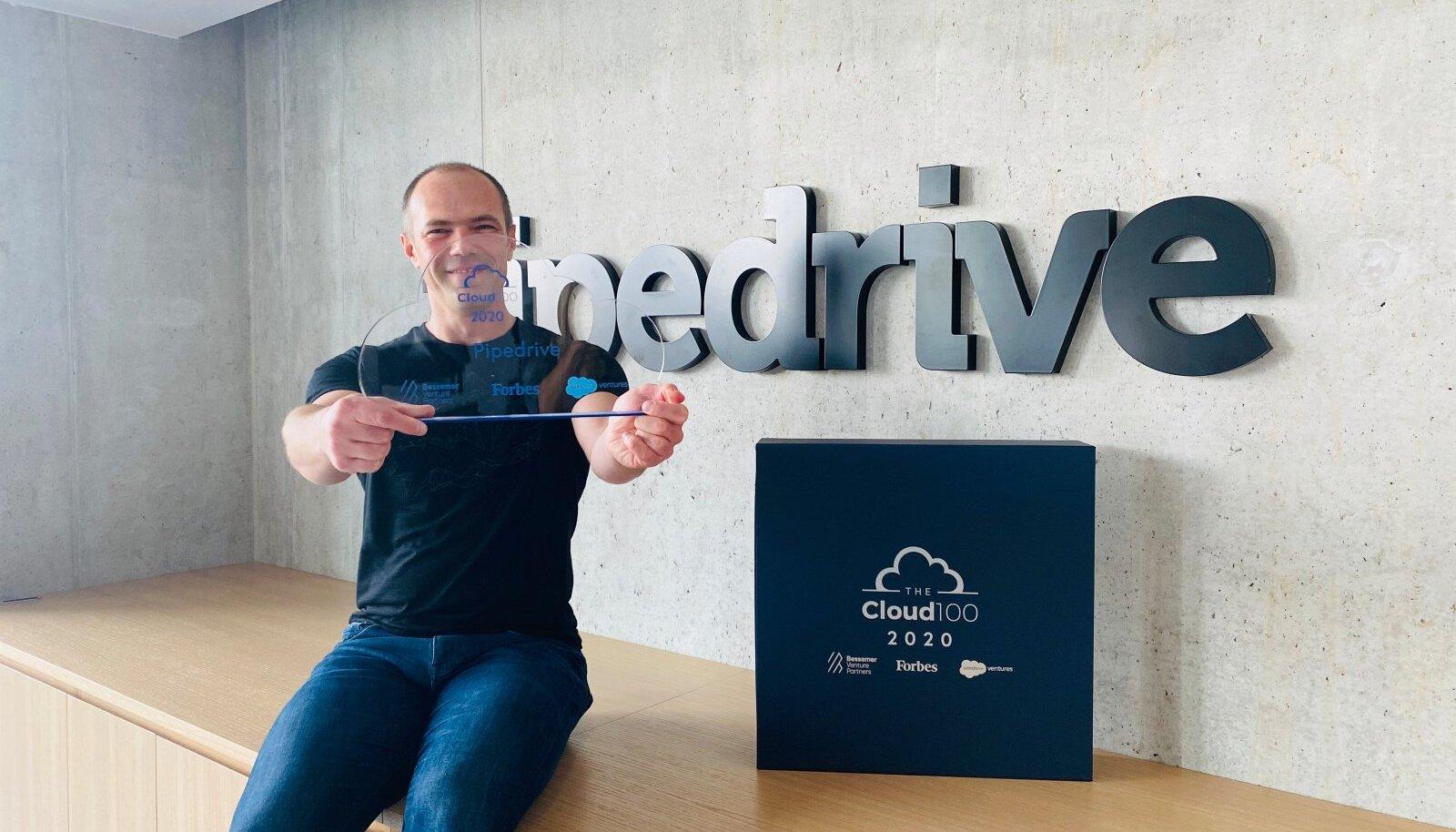 Pipedrive'i tehnoloogiajuht Sergei Anikin Forbesi auhinnaga