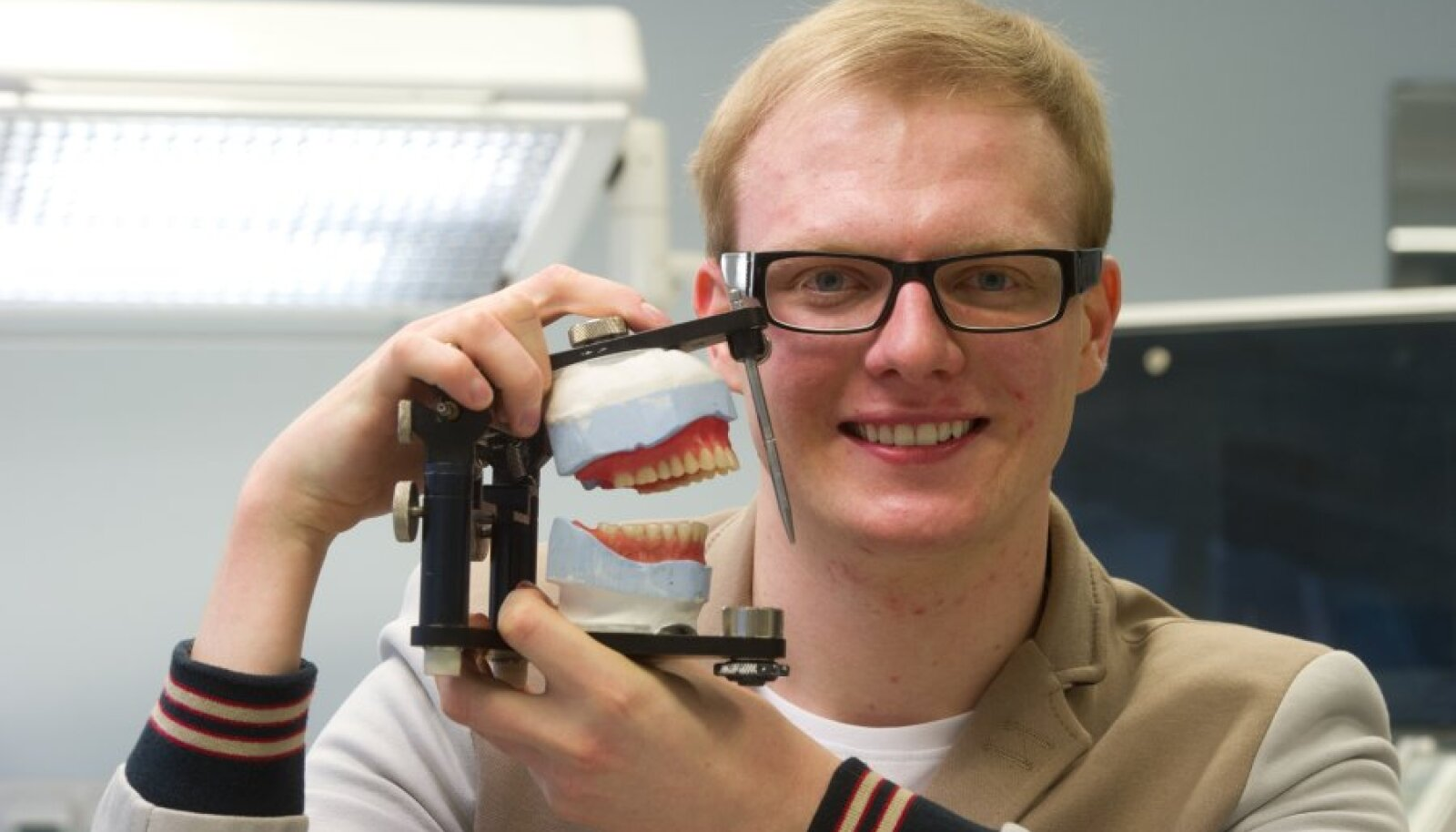 Tallinna tervishoiu kõrgkooli tudeng Kristjan Järve ütleb, et peab õppimisele pühendumist väga oluliseks.