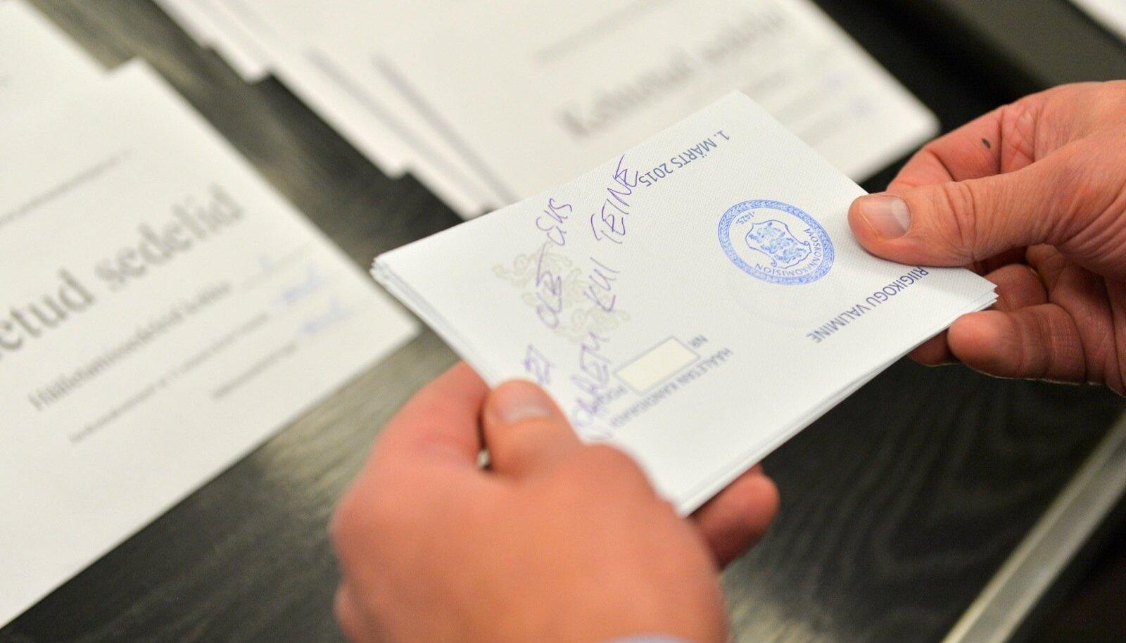 Tallinn peab teise valimisringkonna kehtetud valimissedelid üle lugema