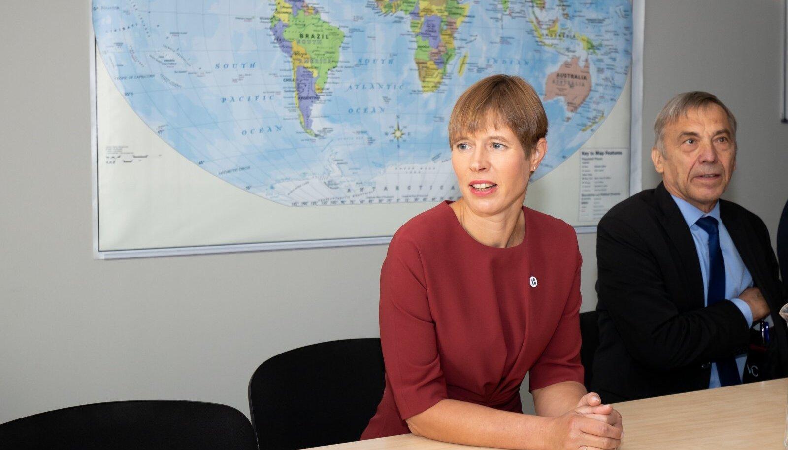 President Kaljulaid