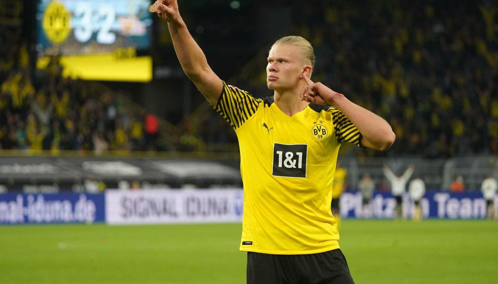 Erling Braut Haaland teeb praegu tegusid Dortmundi Borussias.