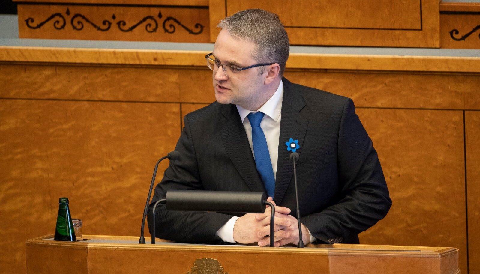 Riigikontrolör Janar Holm