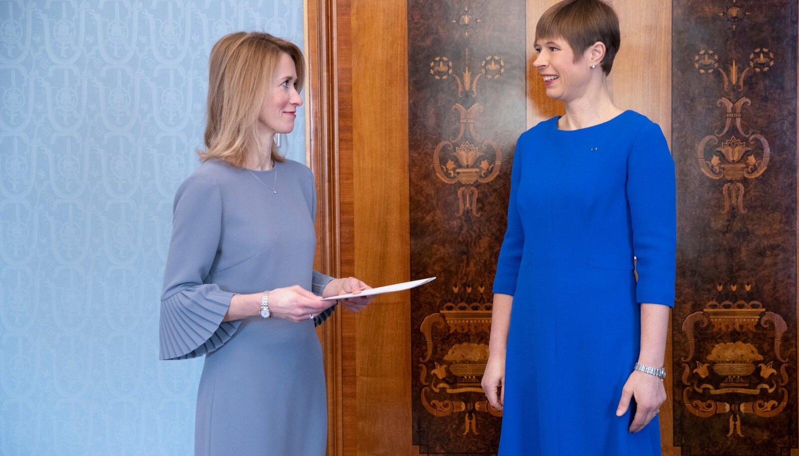 Kas Eesti puhul on see erand või reegel, et nii uus peaminister kui ka president on naised?
