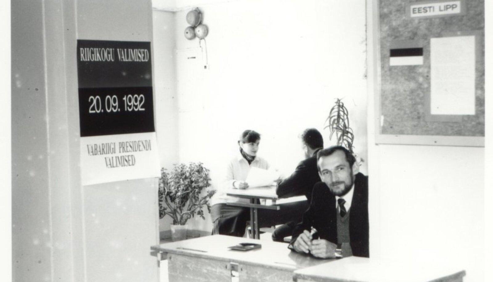 Riigikogu ja vabariigi presidendi valimised, foto