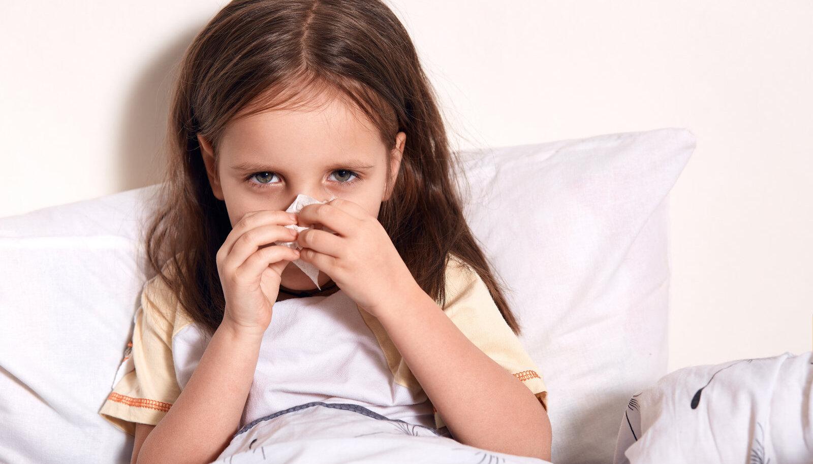 Nohu taga võib olla allergia