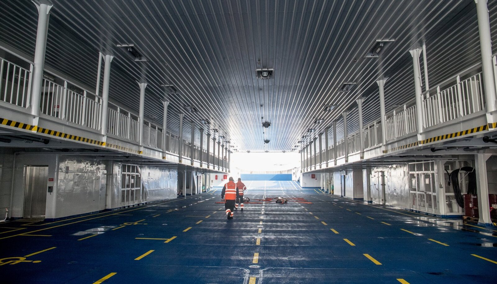 Parvlaev Tiiu saabumine