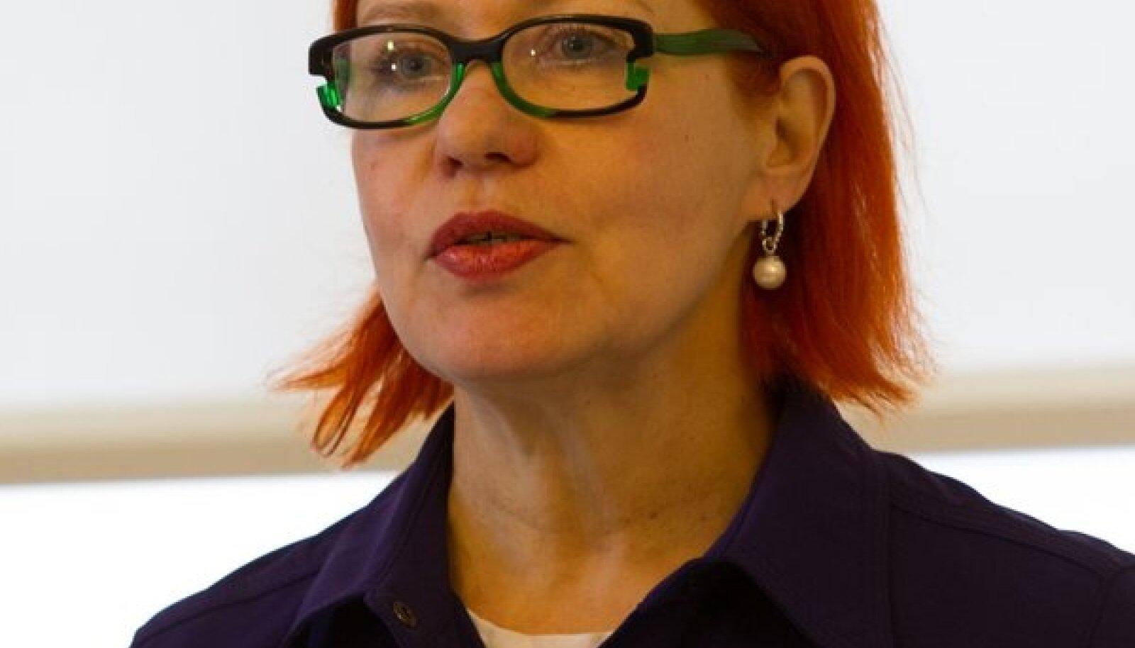 EKA rektor Signe Kivi