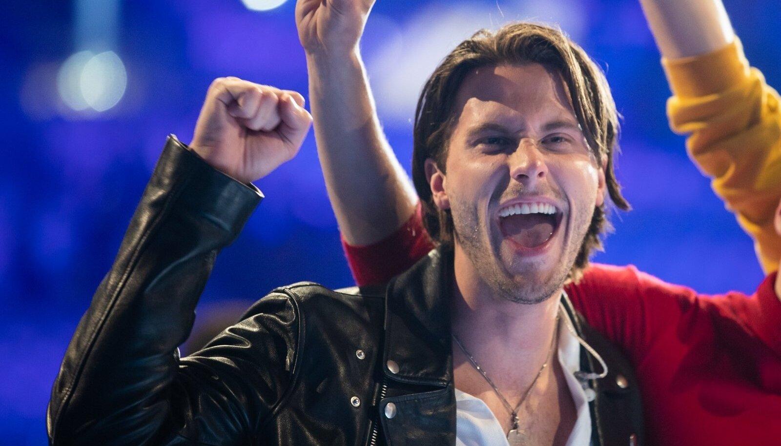 Eurovisiooni esimese poolfinaali võitjad
