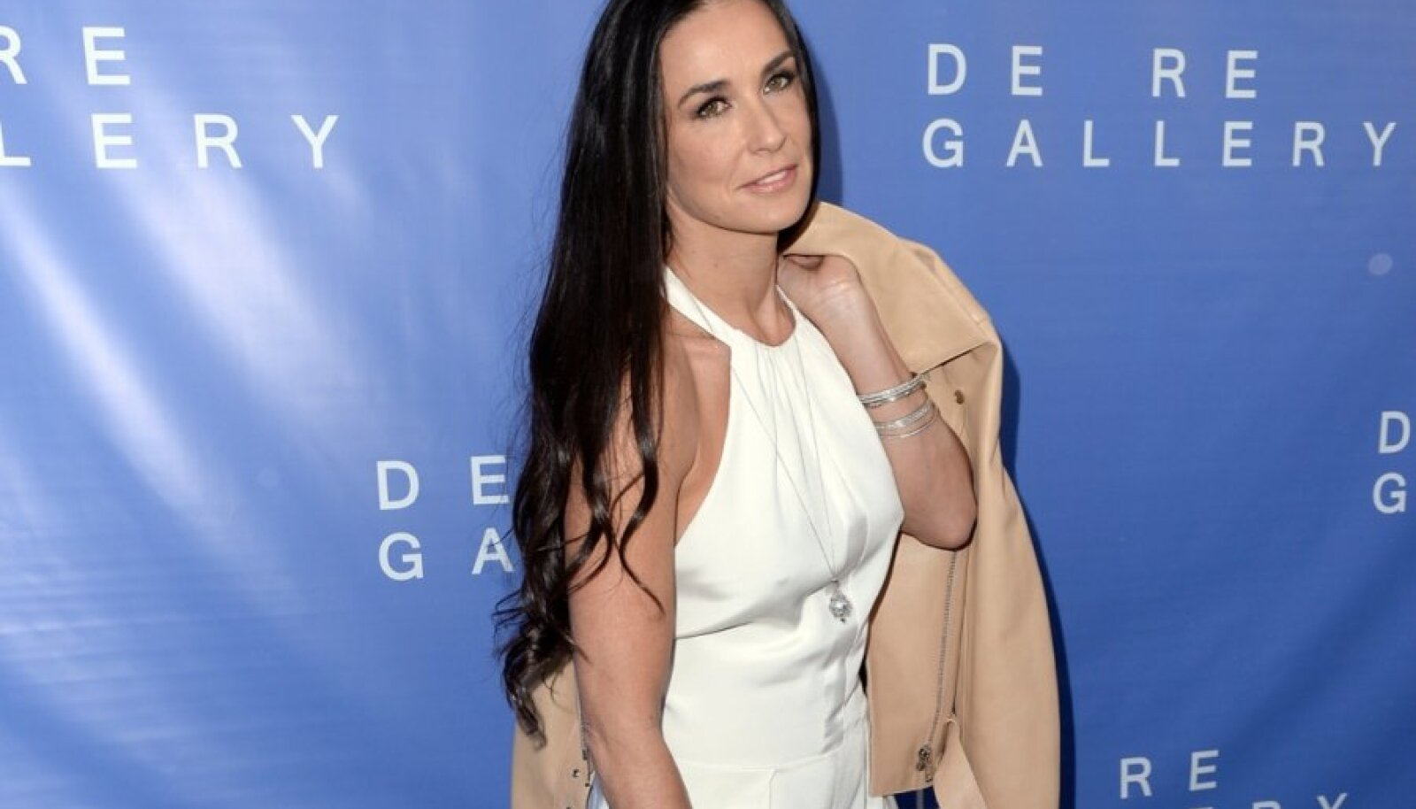 Actress Demi Moore arrives for the grand opening of De Re Gallery in West Hollywood