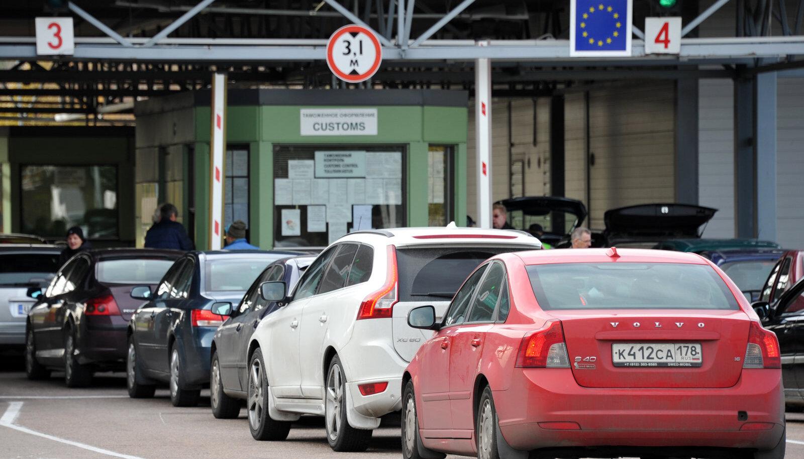 Tollikontroll Vene-Soome piiril