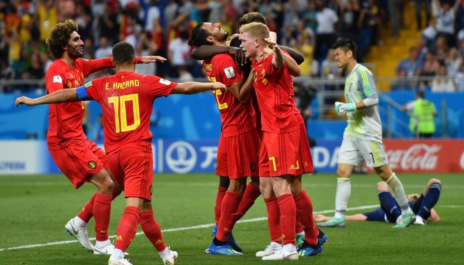 Belgia koondise kohta öeldakse, et edu korral on nad üheks väheseks riigi ühendajaks.