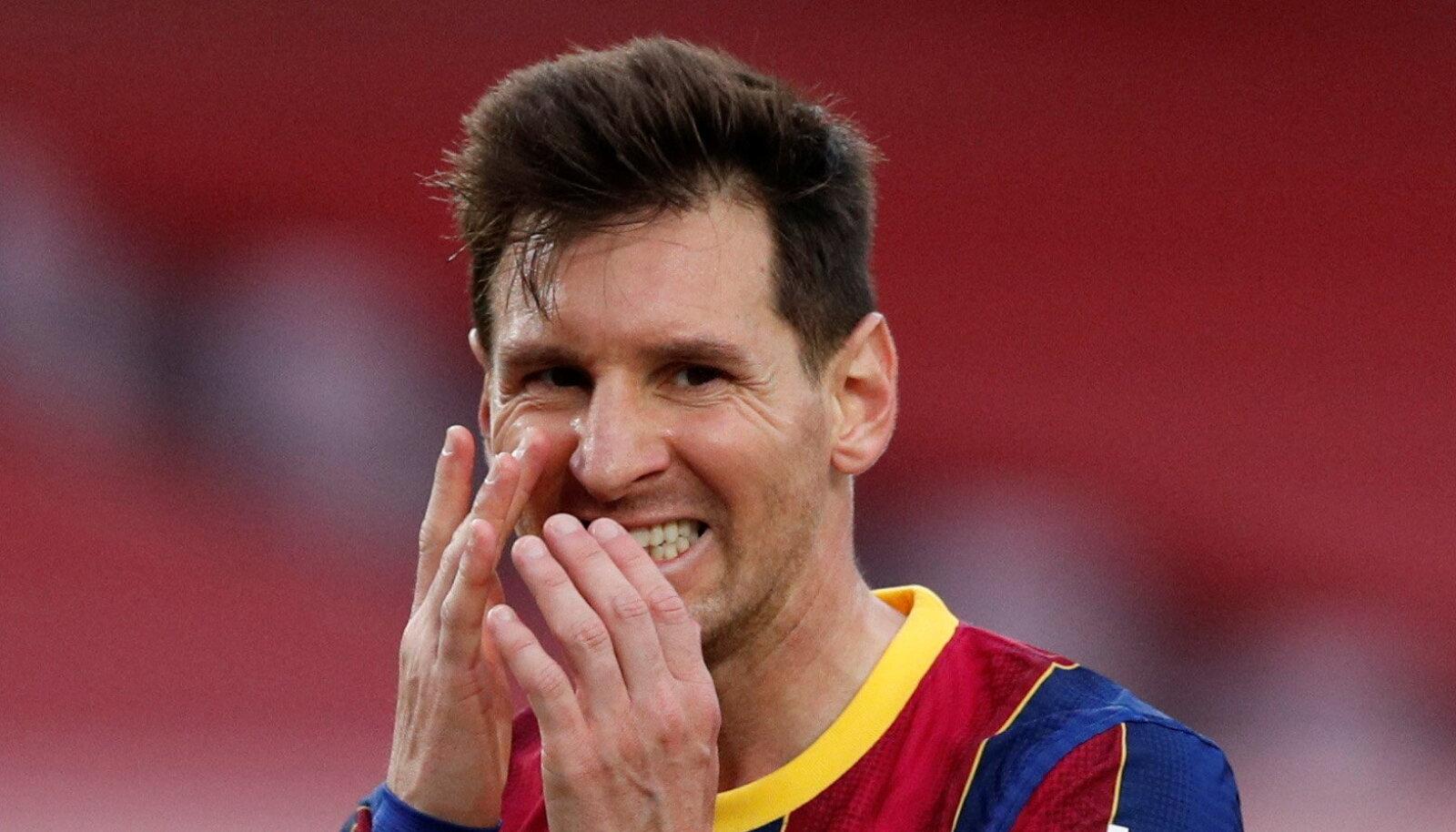 Lionel Messi ei suutnud Barcelonat kaotusest päästa.