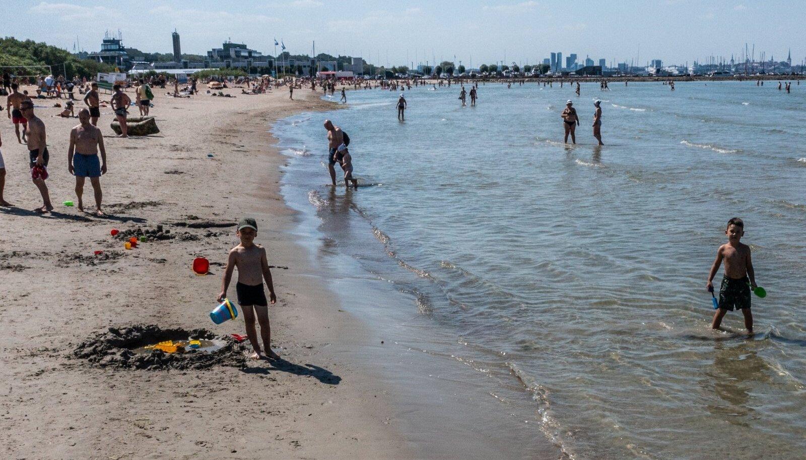 SUUR SOE: Elu Pirita rannas nädal tagasi.